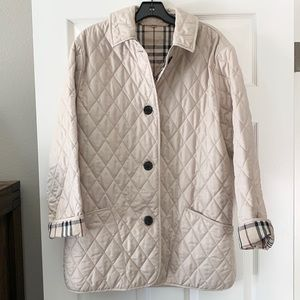 Burberry Quilted Jacket Small